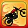 A Motorcycle Bike Race Fire Chase App Icon