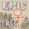 Draw a Stickman: EPIC Free iOS Icon