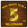 WHO WANTS TO BE A 5 BILLIONAIRE (HD) app icon