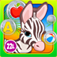 Abby Monkey: Baby Bubble School for Toddlers and Preschool Explorers iOS Icon