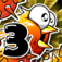 Chicken Fly 3 : The Extreme Marvel Jungle Sky Surfers by Oryzano Game Mobile Entertainment iOS Icon