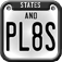 States And Plates A License Plate Game iOS Icon