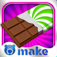 Chocolate Bars ~ Make a Candy Bar ~ by Bluebear app icon