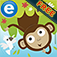 Jungle Adventure: Free educational kid's game app icon