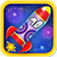 Rocket Frenzy Deluxe HD iOS Icon