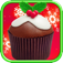 Christmas Cupcakes : Make & Bake FREE app icon