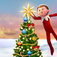 Decorate the Christmas tree with Elf on the Shelf Christmas Game iOS Icon