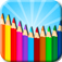 Kids Coloring Doodle app icon