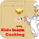 Kid learns cooking iOS Icon