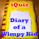 IQuiz for Diary of a Wimpy Kid ( series books trivia ) iOS Icon