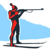 Biathlon Board game iOS Icon
