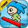 Pixel Surfer : Ride the Wave Temple Version 2 app icon