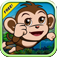 Baby Monkey Bounce : Banana Temple Forest Edition 2 app icon