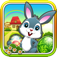 Easter Bunny Egg Hunt Run and Jump Collect them all FREE App Icon