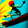 A Stickman Real Crazy Hoverboard Extreme Multiplayer Racing Game Free app icon