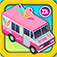 Amazing Ice Cream Truck Game with Alex and Dora: Kids Vehicles 2 app icon