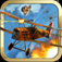 WWI Red Baron Fighter Plane Pilot iOS Icon