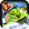 A Zombie Soaker Race War: Fun Jet Ski Bike's Run and Shoot Adventure Game iOS Icon