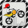 Super Stunt Racer : running stickman classics iOS Icon