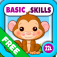 Abby Monkey: Preschool and Kindergarten Educational Learning Adventure Games with Toys Train for Toddler Explorers app icon