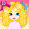 Fashion Hair Salon iOS Icon