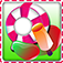 Candy Maker on a Bike: Pop the Fair Food Trucks app icon