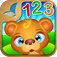 123 Kids Fun NUMBERS app icon