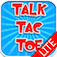 Talk Tac Toe Lite (A cool way to play Tic-Tac-Toe) app icon