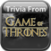 Trivia From Game of Thrones Edition app icon