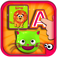 EduKitty ABC Letter Quiz-Alphabet Learning Games, Flash Cards and Tracing for Preschoolers and Toddlers app icon