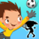 Shape Game Sports Cartoon for kids and toddlers app icon