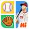 Hi Guess the Baseball Star App Icon