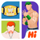 Hi Guess the Wrestling Star App Icon