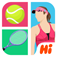 Hi Guess the Tennis Star App Icon