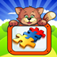 Cute Kitten Jigsaw Puzzles and more app icon