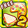 Pizza & Sandwich Cooking Dash 2 app icon