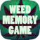 Weed Memory Game iOS Icon