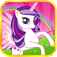 Little Pony Unicorn Friends app icon