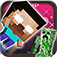 Herobrine Catapult with Skin Exporter for Minecraft (PC Edition) iOS Icon
