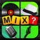 4 Pics 1 Mix ~ What's the Mix? (guess the song movie & more) iOS Icon