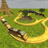Kids Advanced Trains Construction iOS Icon