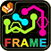 Hexic Flow: Color Frames iOS Icon
