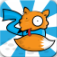 Crazy Foxes : Hen Defense app icon