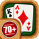 Solitaire 70 plus Free Card Games in 1 Ultimate Classic Fun Pack : Spider, Klondike, FreeCell, Tri Peaks, Patience, and more for relaxing app icon