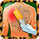 Hairy Back Waxing Games iOS Icon