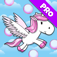A Bubble Adventure: Flying Unicorn Dash app icon