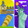 Guess the City Puzzle Icon Quiz – 1 Picture 1 Word Game for Kids PRO app icon