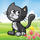 Kitten Puzzles Full app icon