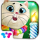 Kitty Cat Birthday Surprise: Care Dress Up & Play iOS Icon