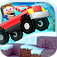 Blocky Roads Winterland App Icon